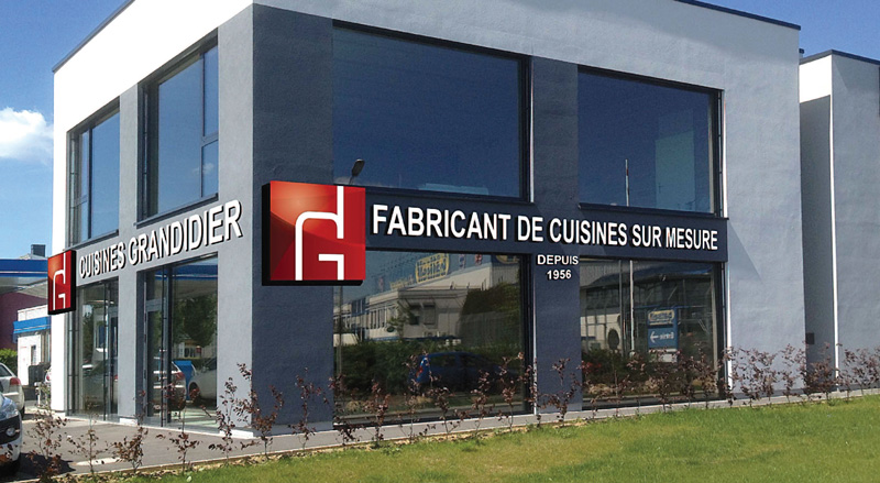 Photo showroom Cuisines Grandidier Foetz, Luxembourg